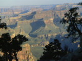 View of the Grand Canyon from the South Rim in Arizona Photographic Print by Bill Hatcher