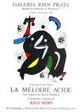 La Melodio Acide Collectable Print by Joan Miró