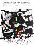 Joan Miró - Homage a Joan Prats 1972 - Koleksiyonluk Baskılar