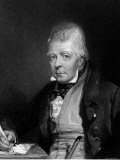 Engraving of Sir Walter Scott, Scottish Novelist and Poet Premium Photographic Print