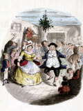 "Illustration from Charles Dickens' ""A Christmas Carol"" Premium Photographic Print"