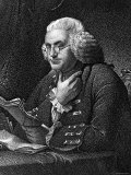 Engraving of Benjamin Franklin, American Philosopher, Author and Scientist Photographic Print
