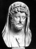Bust of Marcus Aurelius, Roman Emperor Premium Photographic Print