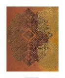 Golden Henna I Premium Giclee Print by Chariklia Zarris