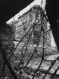 Barbed Wire Which Separates East and West Berlin Photographic Print by Paul Schutzer