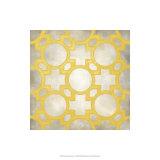 Simetría clásica V Lámina giclée de primera calidad por Chariklia Zarris