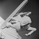 "Sculpture by Joseph Reiner Entitled ""Speed"" at the 1939 World's Fair in New York Photographic Print by Alfred Eisenstaedt"