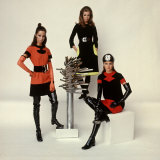 Models Wearing Fashions Designed by Pierre Cardin Photographic Print by Bill Ray