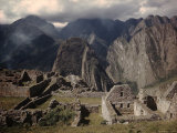 Incan Ruins at Machu Picchu Premium Photographic Print by Dmitri Kessel