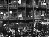 Dilapidated Golden Flats Tenement Slum Housing Premium Photographic Print by Andreas Feininger