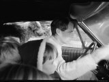 Senator Robert Kennedy Driving Car with Pet Springer Spaniel over His Lap and Son Max Beside Him Premium Photographic Print by Bill Eppridge