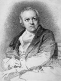 Etching Portraying the Poet and Artist William Blake Premium Photographic Print
