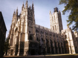 Canterbury Cathedral Premium Photographic Print by David Scherman