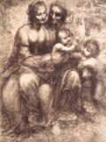 Drawing, 1508 Reproduction photographique sur papier de qualité par Raphael