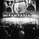 "Audiences Gathered Outside Theater For the Brazilian Premiere of Walt Disney's ""Fantasia"" Photographic Print by Hart Preston"