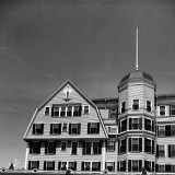 Facade of New Ocean House Hotel Photographic Print by Walker Evans