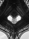 Low Angle of the Eiffel Tower Photographic Print by Alfred Eisenstaedt