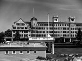 Grounds and Exterior of New Ocean House Hotel Premium Photographic Print by Walker Evans