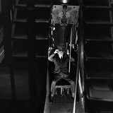 Man Using a Large Telescope, c.1946 Photographic Print by George Rodger