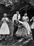 Archery Providing Entertainment at a Teenage Party Premium Photographic Print by Yale Joel