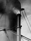 Abstract Close Up of Merchant Ship Steam Whistle Photographic Print by Peter Von Cornelius