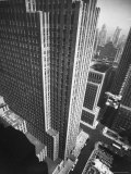 Panorama of RCA Building at Rockefeller Center Between 49th and 50Th, on the Avenue of the Americas Premium Photographic Print by Andreas Feininger