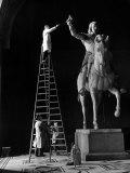 Bertel Thorvaldsen's Equestrian Statue of Emperor Maximillian I Premium Photographic Print by Alfred Eisenstaedt