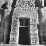 Carvings Decorating Archway Into Temple at Abu Simbel Photographic Print by Eliot Elisofon