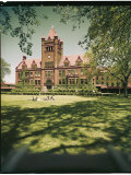 Front of New Trier High School Premium Photographic Print by Alfred Eisenstaedt