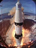 Launch of Apollo 11 Premium Photographic Print by Ralph Morse