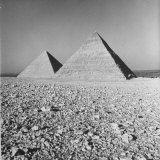 View of the Great Pyramids at Gizeh Photographic Print by Eliot Elisofon