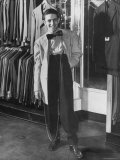 Jerome Mendelson Modeling the New Fashion, a Zoot Suit Photographic Print by Marie Hansen
