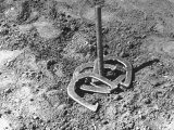 Horseshoe Pitching Premium Photographic Print by Rex Hardy Jr.