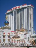 Exterior of Real Estate Tycoon Donald Trump's Taj Mahal Hotel and Casino Premium Photographic Print by Ted Thai