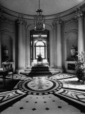 Entrance Foyer to Residence of Ambassador Laurence A. Steinhardt, Used For Greeting Guests Premium Photographic Print by Nat Farbman