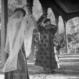 Uighur Dancers Performing Dance Photographic Print by William Vandivert