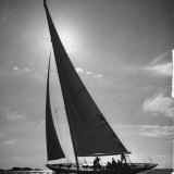 Sailing Boat Photographic Print by Mark Kauffman
