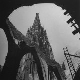 Stephen's Dome, the Famous Cathedral Which Was Another Casualty of War Photographic Print by John Phillips