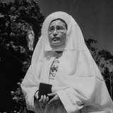 Japanese Nun in the Order of the Sacred Heart Photographic Print by Eliot Elisofon