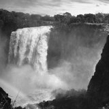 View of Victoria Falls on the Zambesi River Fotografisk tryk af Eliot Elisofon