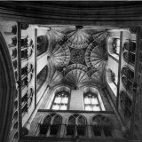 Canterbury Cathedral's Ceiling with an Elaborately Detailed Design Photographic Print by William Sumits