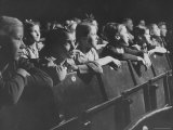 Children Viewing a Theater Production About a Boy Living in the Us Premium Photographic Print by Nat Farbman