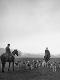 Fox Hunting, England Photographic Print by Mark Kauffman