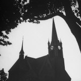 Church Steeple Photographic Print by Nat Farbman