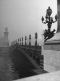 Looking Across the Pont Alexandre III Bridge Toward the Grand Palace Photographic Print by Ed Clark