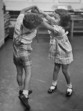 Children Dancing to Music Premium Photographic Print by Martha Holmes
