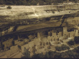 Ancient Pueblo Indian Cliff Dwellings in Mesa Verde National Park Photographic Print by Eliot Elisofon