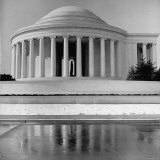 View of the Jefferson Memorial Photographic Print by Fritz Goro