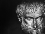 Head of Aristotle Premium Photographic Print by Gjon Mili