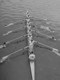 Kent School Rowing Crew Practicing For the Royal Henley Regatta Premium Photographic Print by George Silk